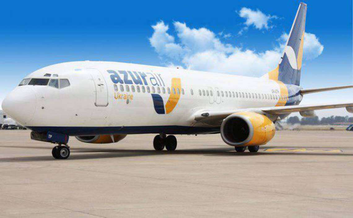 Azur Air Ukraine – Barcelona